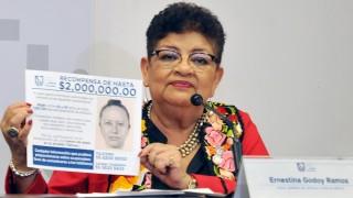 Conferencia de prensa con la fiscal General de Justicia de la Ciudad de México, Ernestina Godoy Ramos